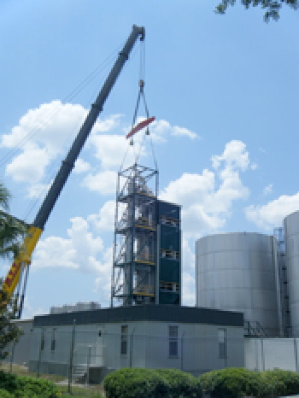 Florida Chemical Company Expands Their Distillation and Bulk Storage Capacity